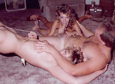 Vintage amateur swingers