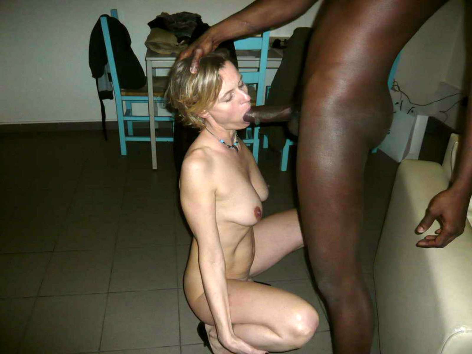 Real wife first black cock