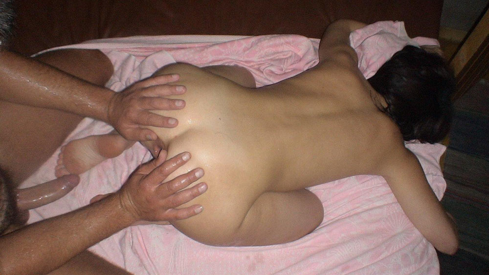 Husband watches wife first big cock