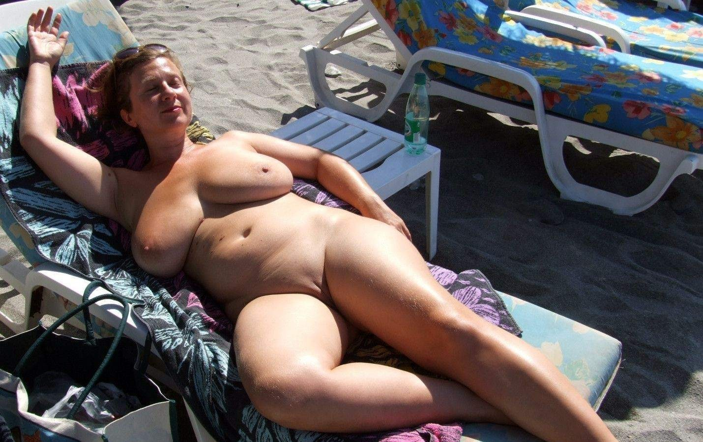 my wife naked on beach sex