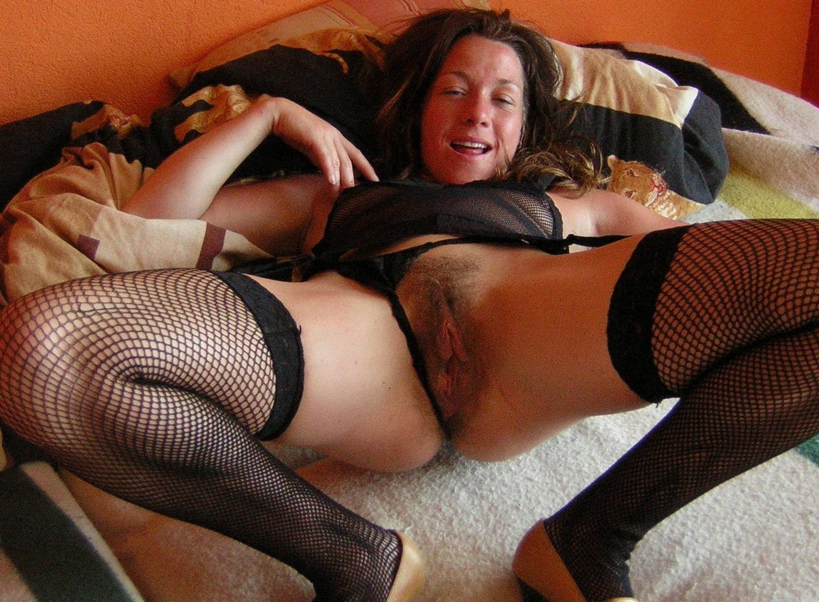 Hairy mature pussy spreading why look
