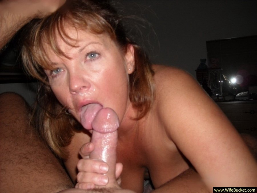 Cum on mature amateur wife