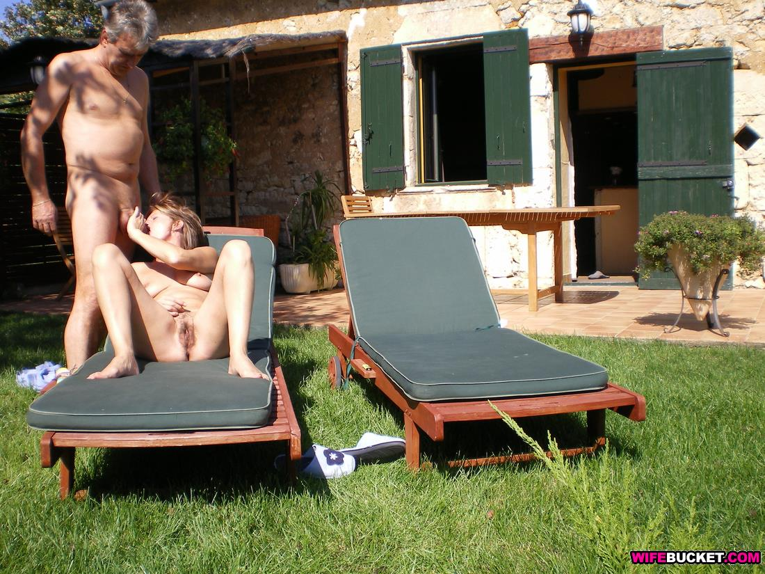 Valuable back yard nude sunbathing captions that can