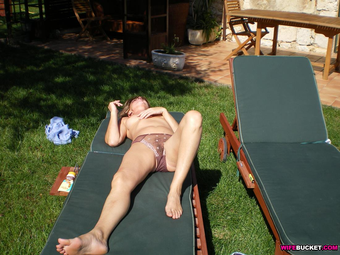 Outdoors mature couples