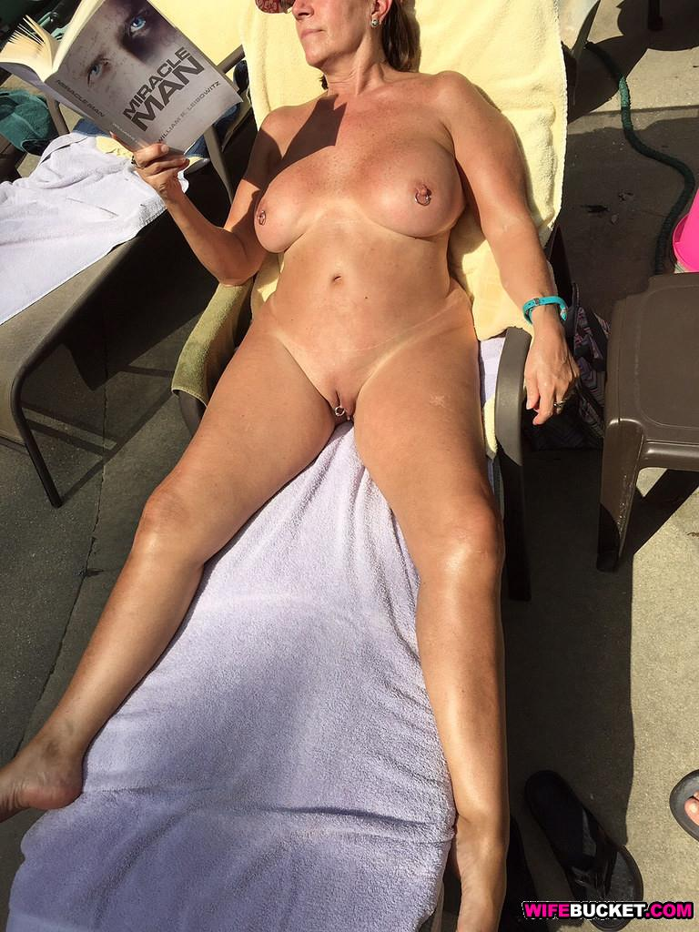 naked wives in the sun