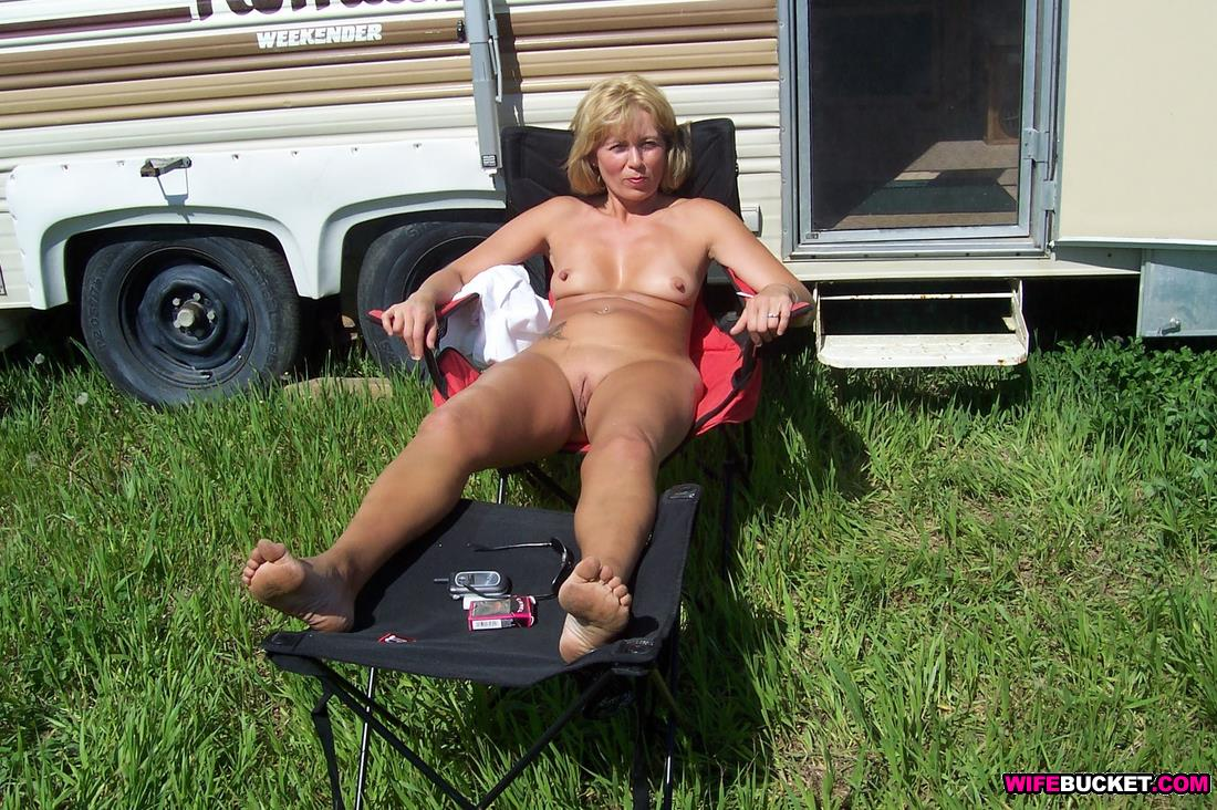 a naked wife in public places from gina