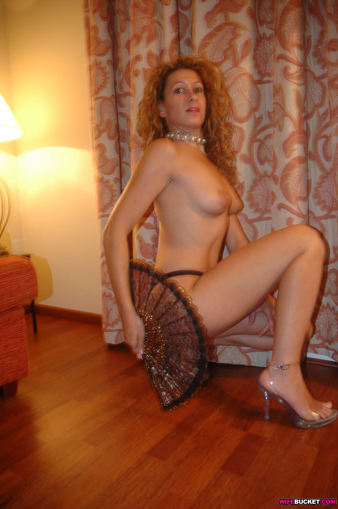 Horny single mom in fishnetget bbc - 3 part 4