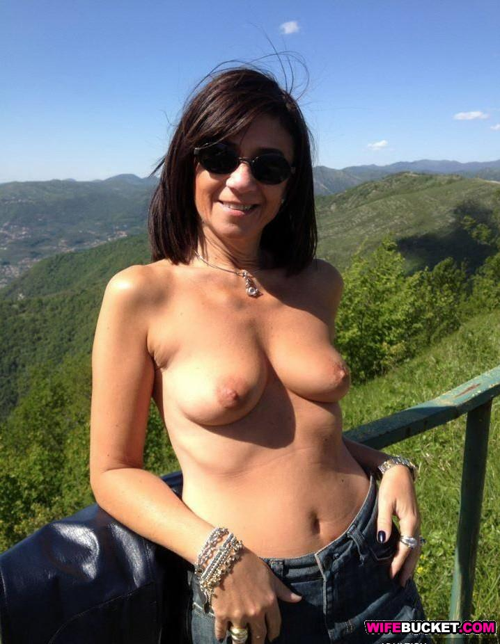 Opinion you Amateur milf naked outdoors