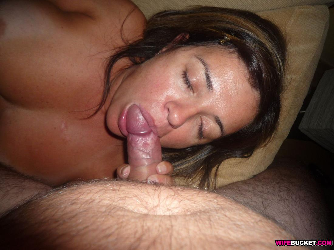 Wife was sucking cock sorry