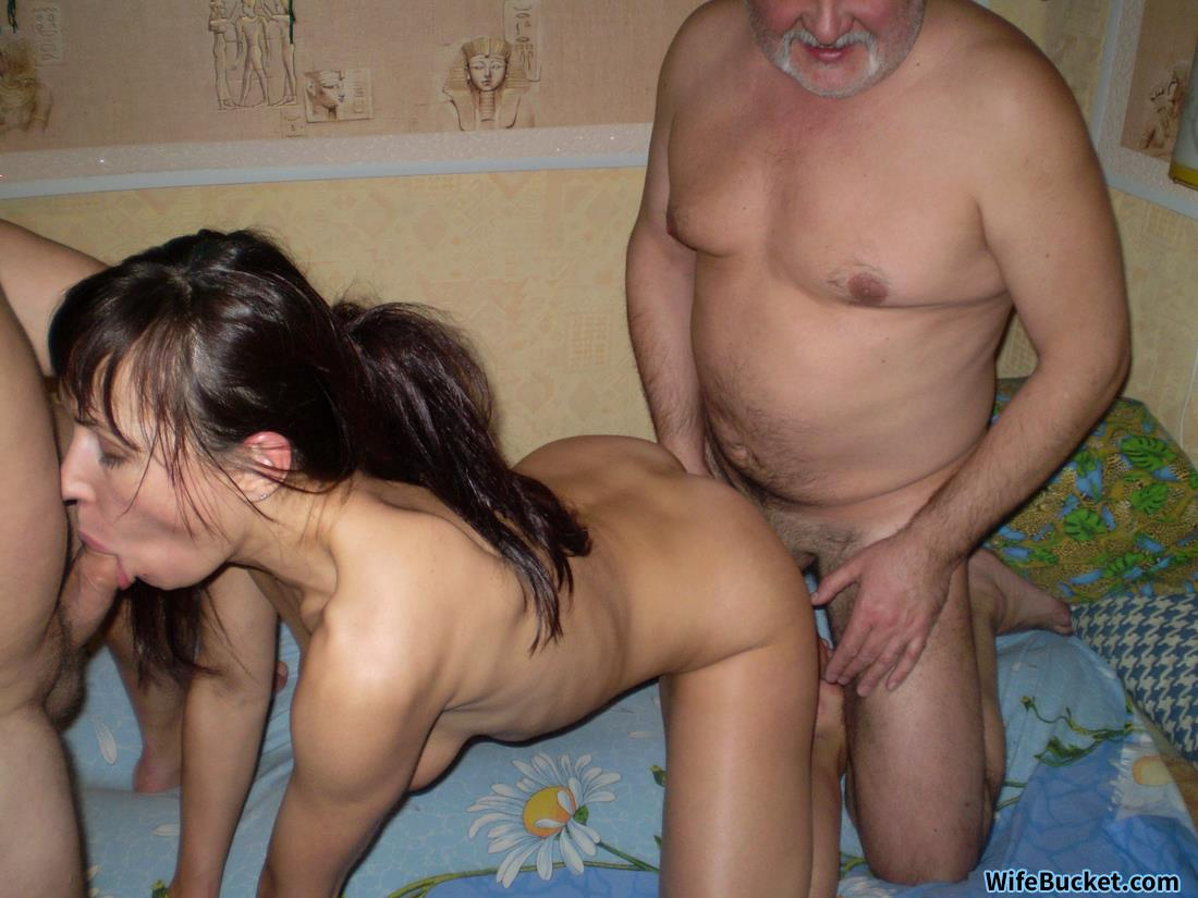 For wife orgy home video join told