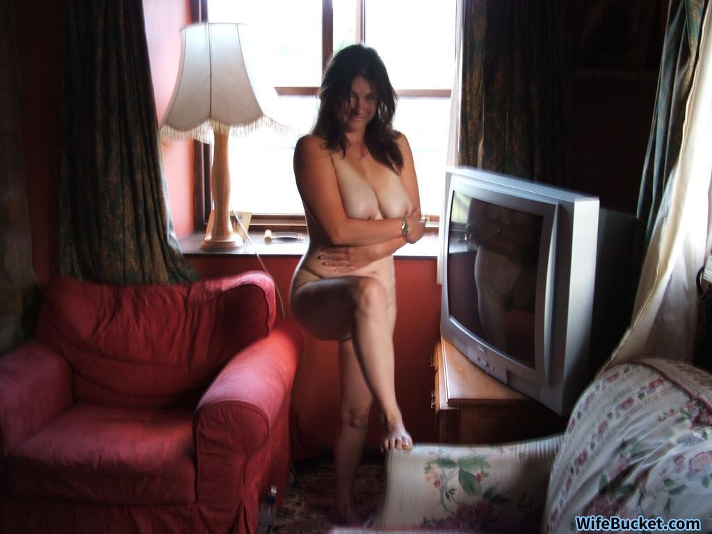 Wife goes naked everywhere