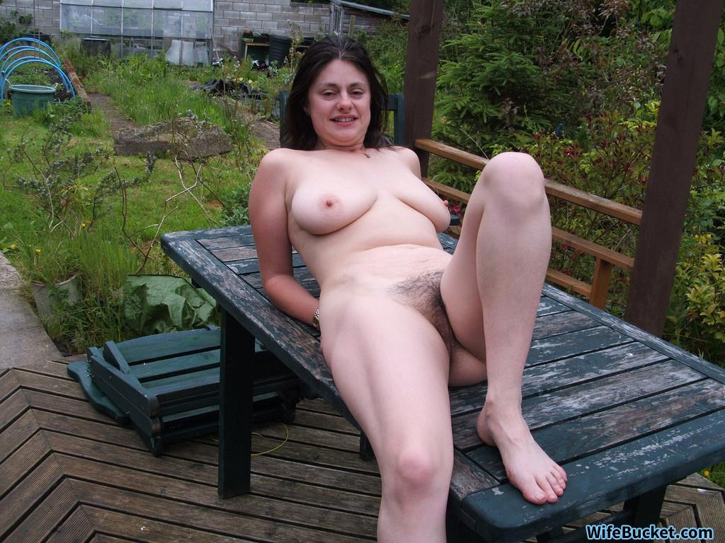 wife in public nude Mature