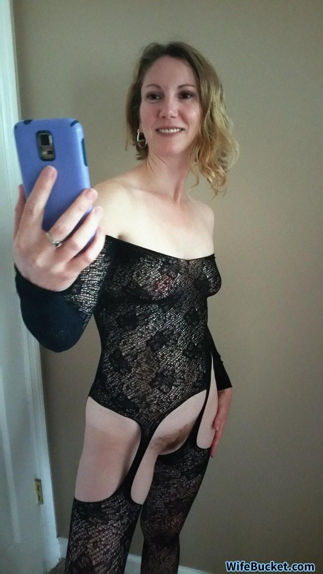 Nude real milf selfies